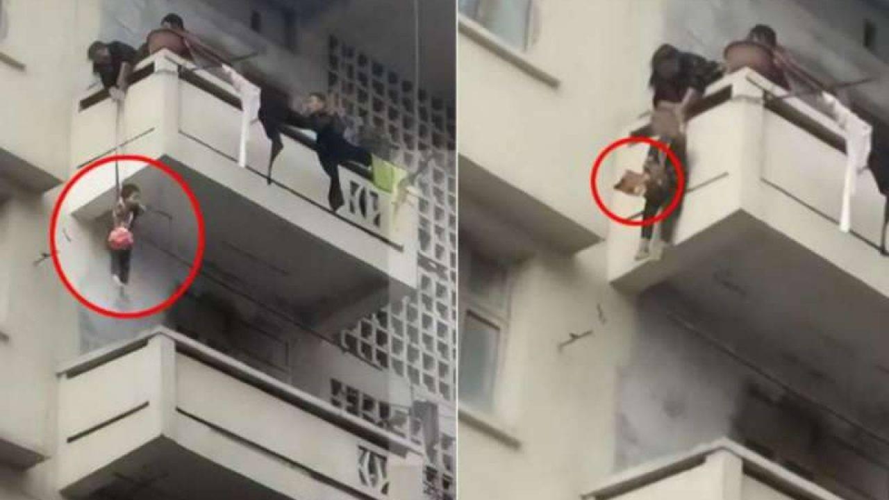 Rete Per Gatti Condominio cala il nipotino dal balcone per salvare il gatto - interris.it