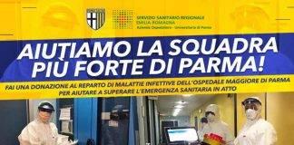 L'iniziativa del Parma Calcio