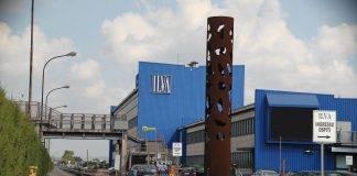 """Lo stabilimento di Taranto quando era ancora """"Ilva"""""""