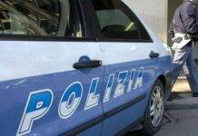 Una macchina della polizia