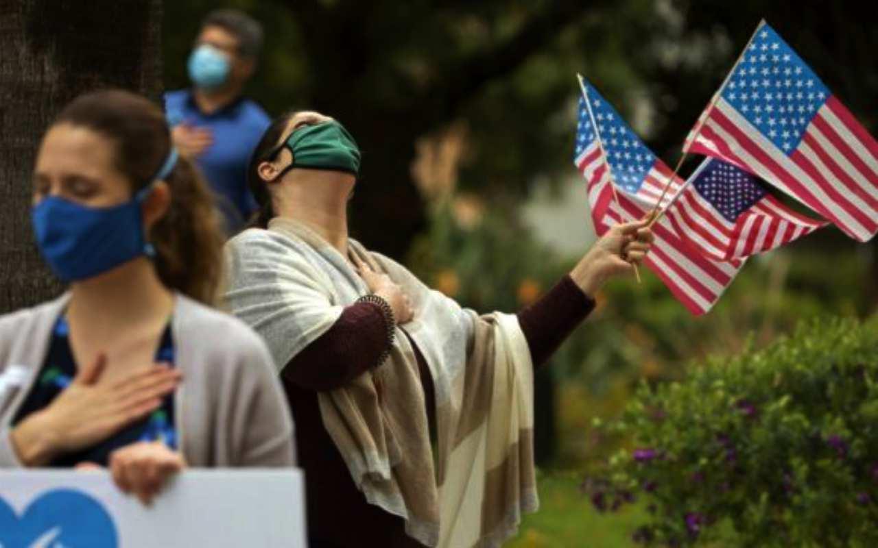 Covid, in Usa più morti che durante Seconda guerra mondiale