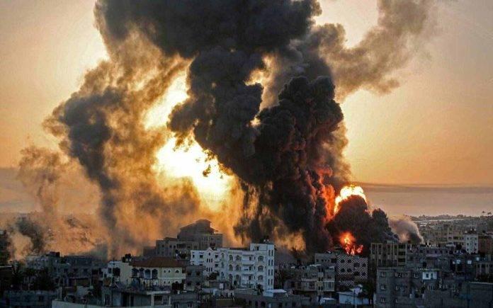 Gaza City raid