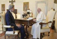 John Kerry Papa Francesco
