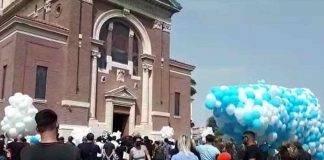 Funerali vittime Ardea