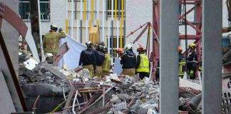 Belgio crollo cantiere