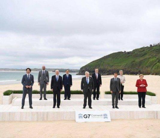 G7 vertice Cornovaglia