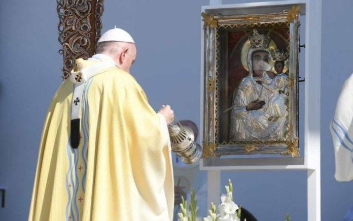 Papa Francesco Messa Congresso Eucaristico