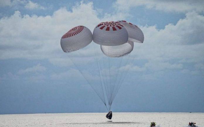 Space X ammaraggio