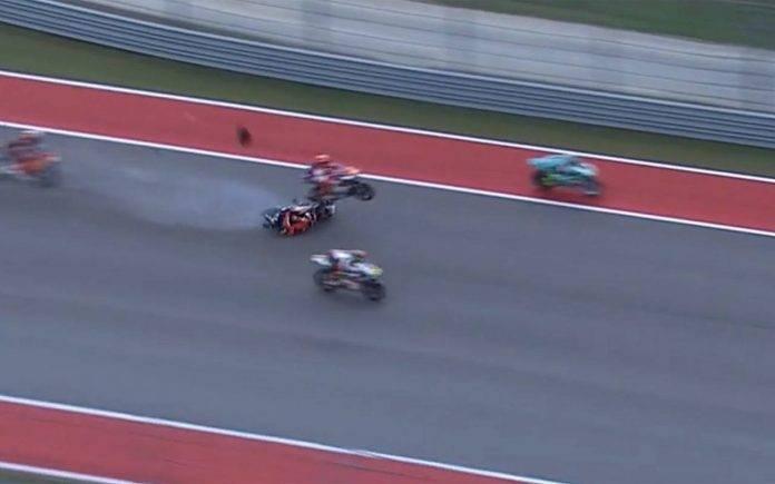 Moto3 Austin incidente