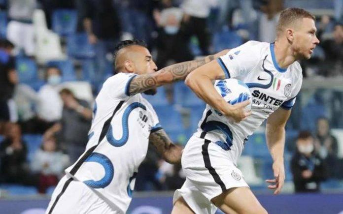 Dzeko Inter Sassuolo