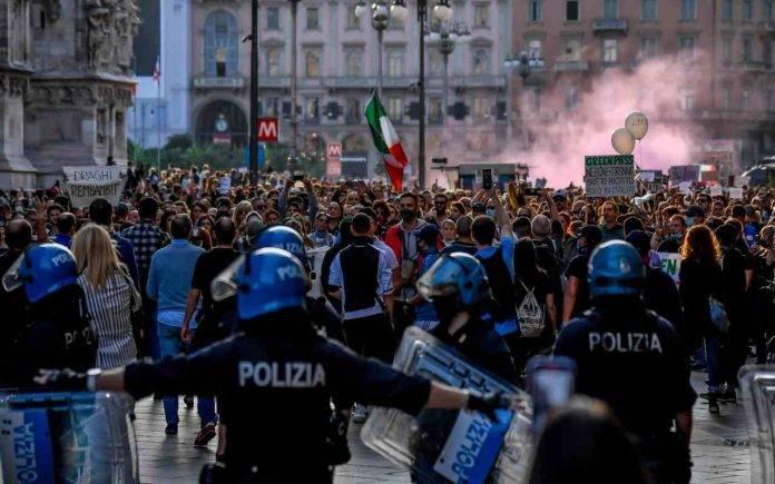 Scontri Roma neofascisti