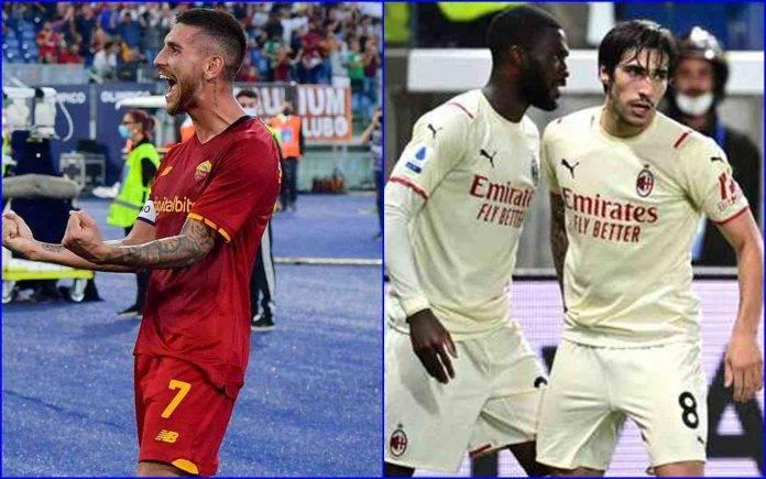 Serie A Roma Milan